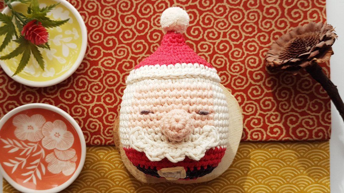 Xmas Santa Clause Ornament Free Crochet Pattern One Zero Crochet