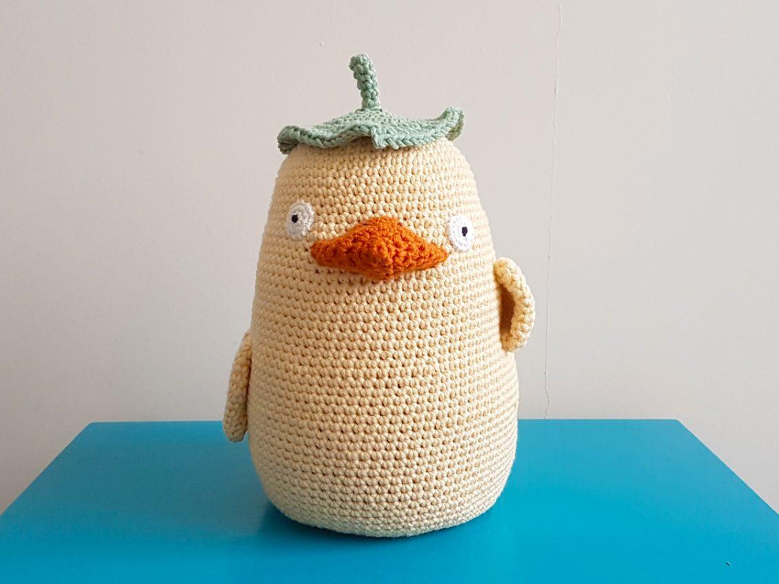 Studio Ghibli Ootori Sama Door Stopper Free Crochet Pattern One