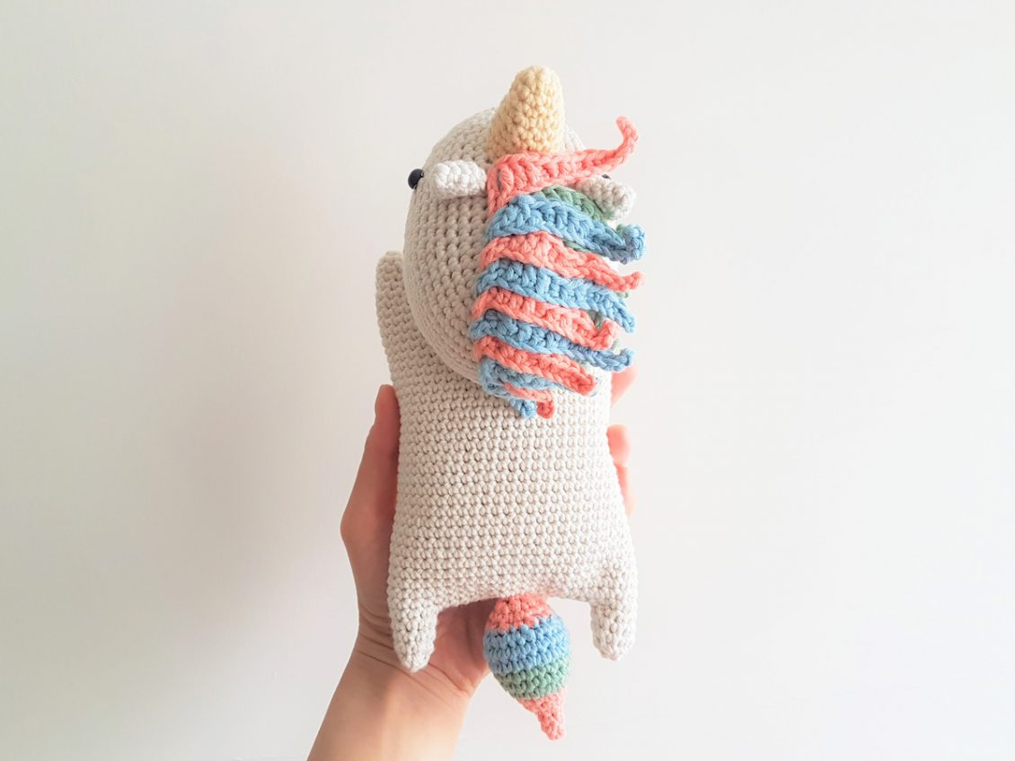 Free Crochet Pattern for Twinkle the Unicorn ⋆ Crochet Kingdom | 848x1130
