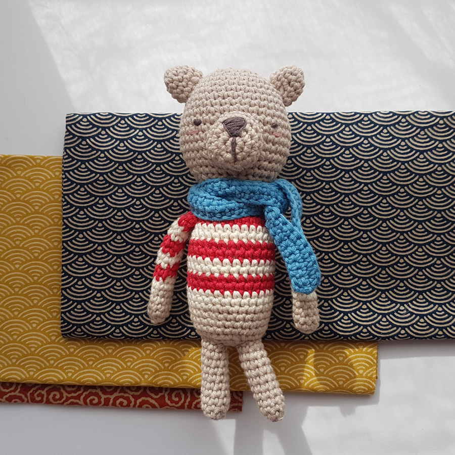 Crochet Teddy Bear - White Polar Bear - natureZOO of Denmark (EN) | 900x900